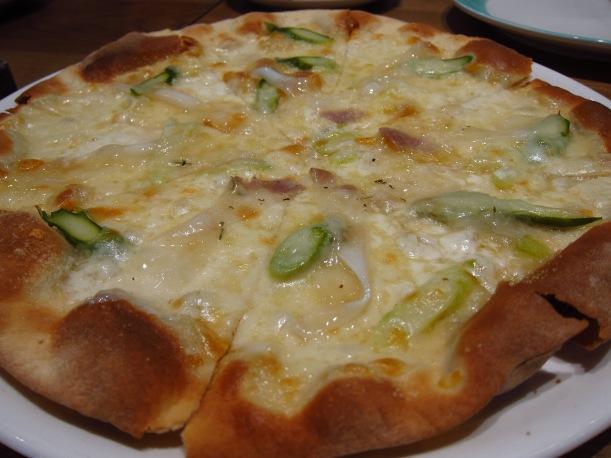 Pizza Lardo di Colonnata
