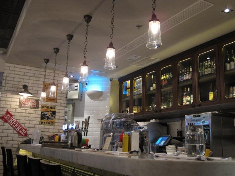 Interior of BLT Burger