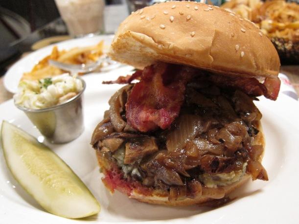 Roaring Forties Blue burger