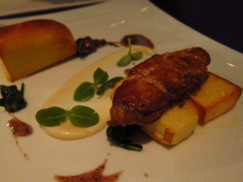 Pan fried foie gras