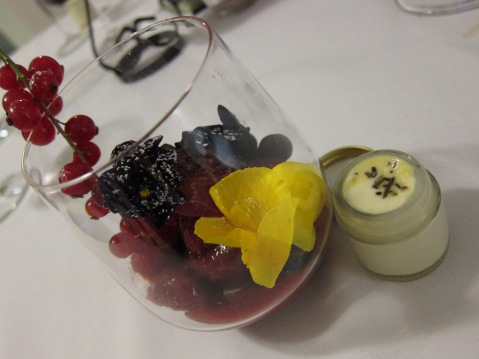Signature special Tomato and Mixed Berries Confit