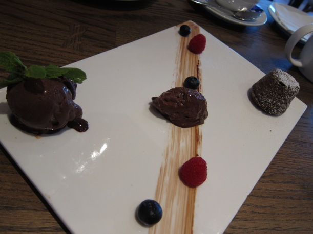 Trio of Chocolate