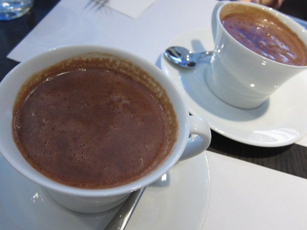 Chocolat chaud Parisien