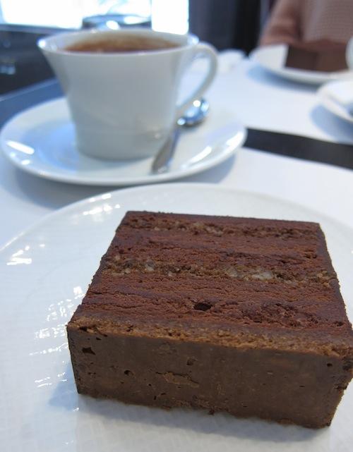 Jean-Paul Hévin chocolate cake!
