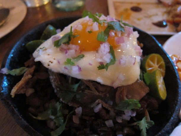 Pig's Foot and Ear Sizzling Sisig