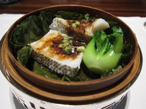 Steamed Chilean Seabass with with Fermented Black Bean Sauce