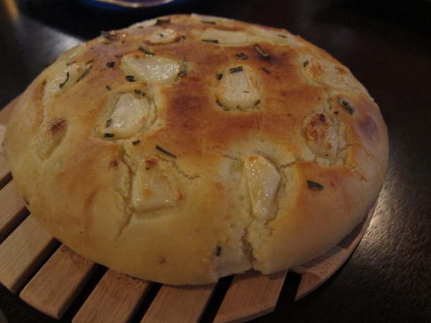 Garlic Loaf with Rosemary and Sea Salt
