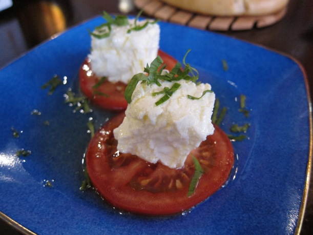 Creamed goat's cheese