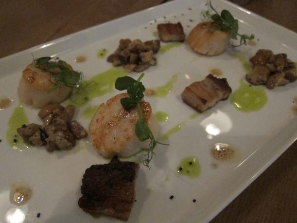 Pan-seared Hokkaido scallops