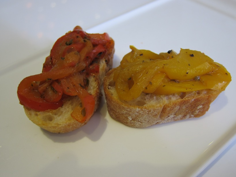 Duo of Red and Yellow Pepper