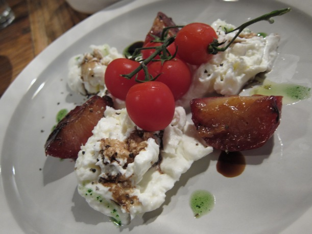 Fresh burrata