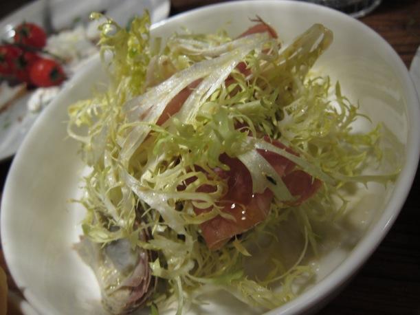 Californian artichokes 'Barigoule' with  Black Label Galloni Prosciutto