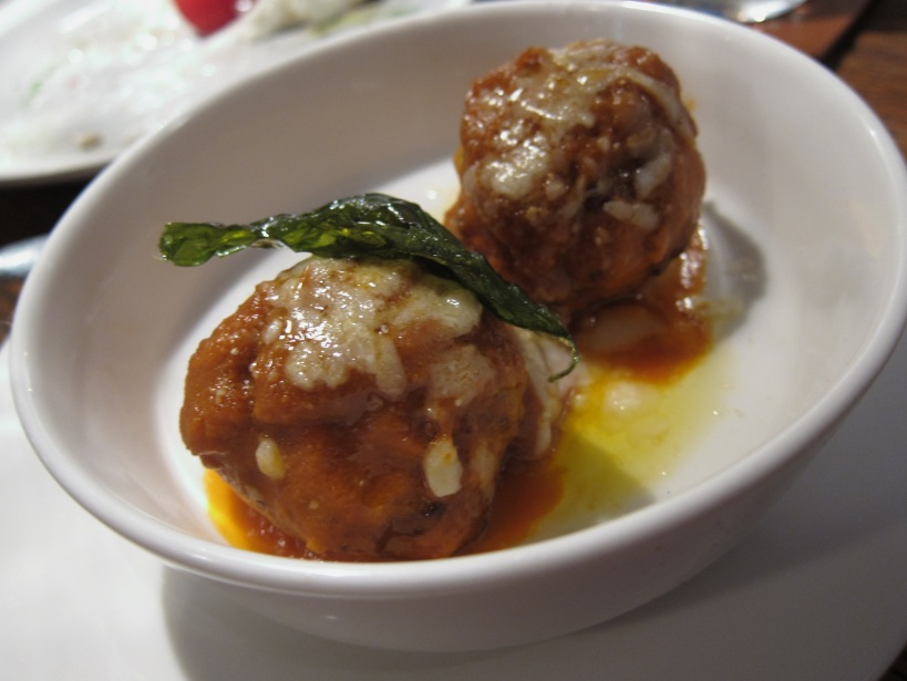 Dutch veal and pork meatballs