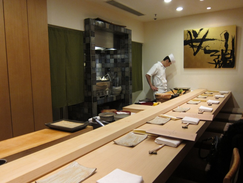 Sushi Shikon counter