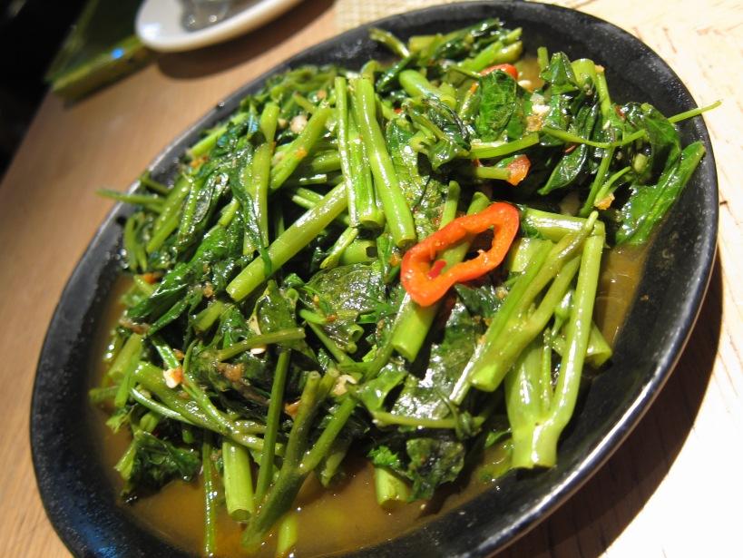 Belachan Kangkong