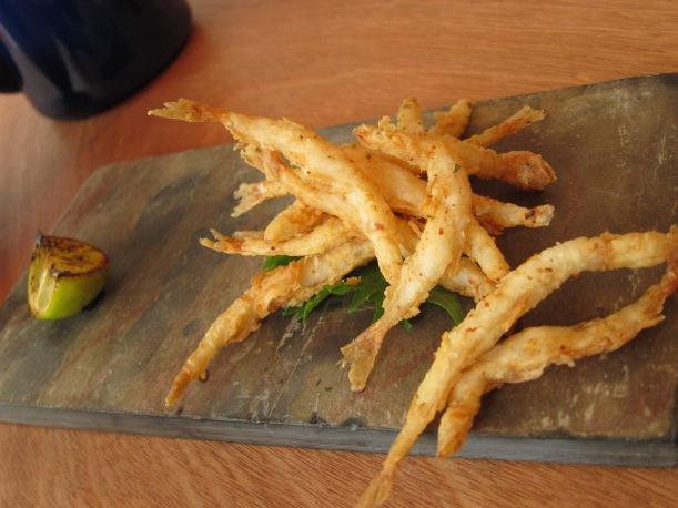 Fried fish- too addictive!