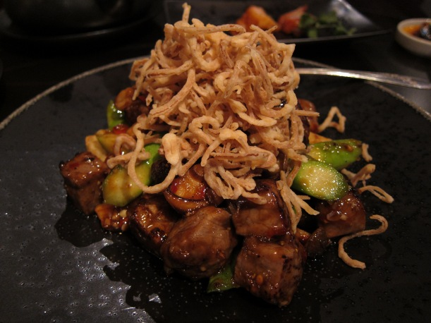 Australian Wagyu beef with Shitake Mushrooms