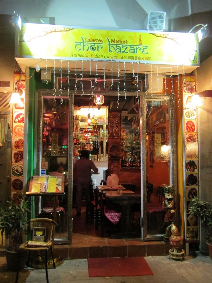 Chor Bazare- colourful and bright