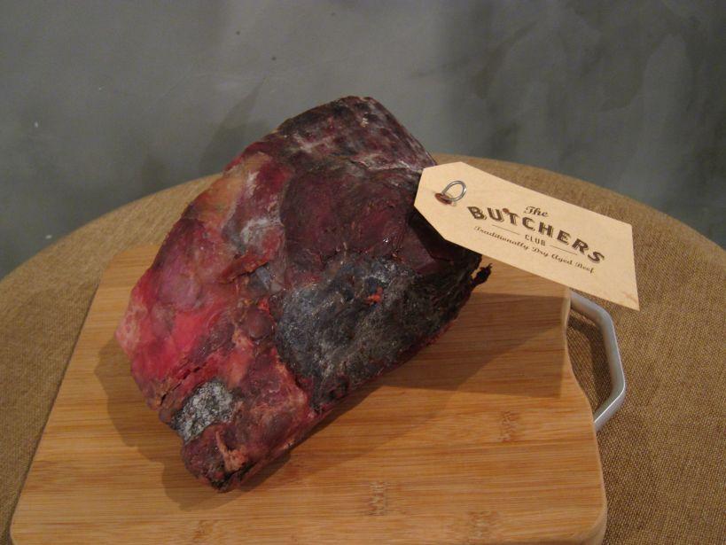 90-day dry-aged Australian steak