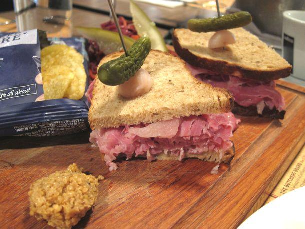 NY Style Corned Beef Deli Sandwich