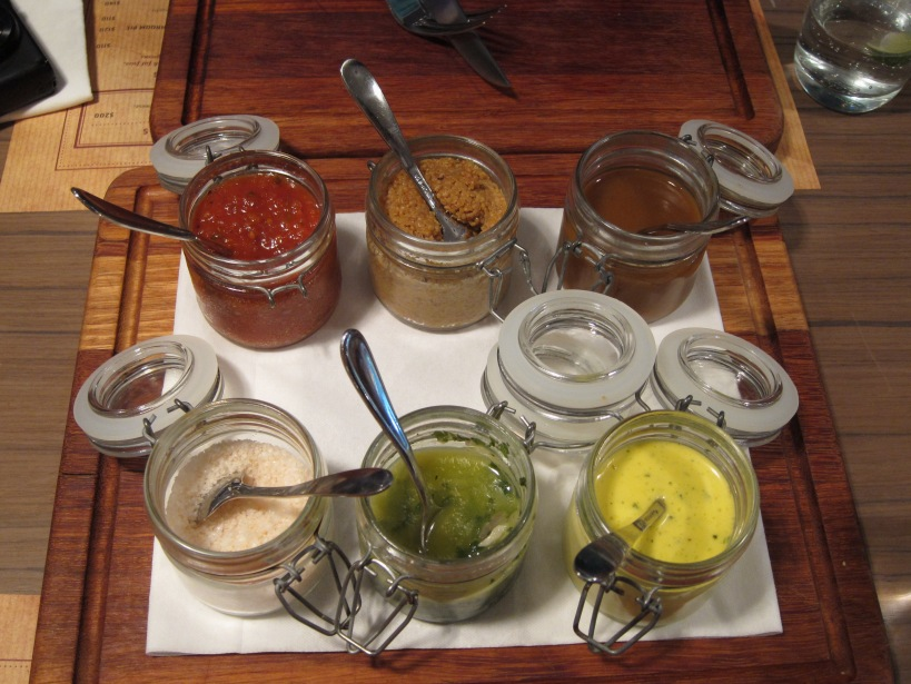 Condiment selection