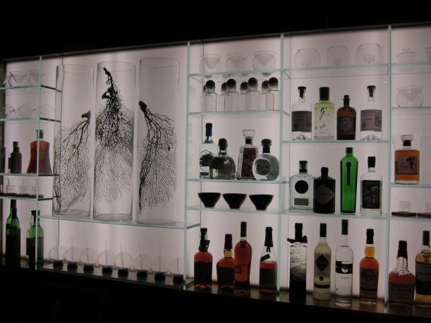 The bar display