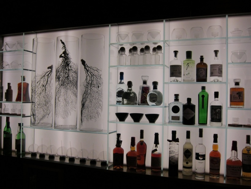 The bar display