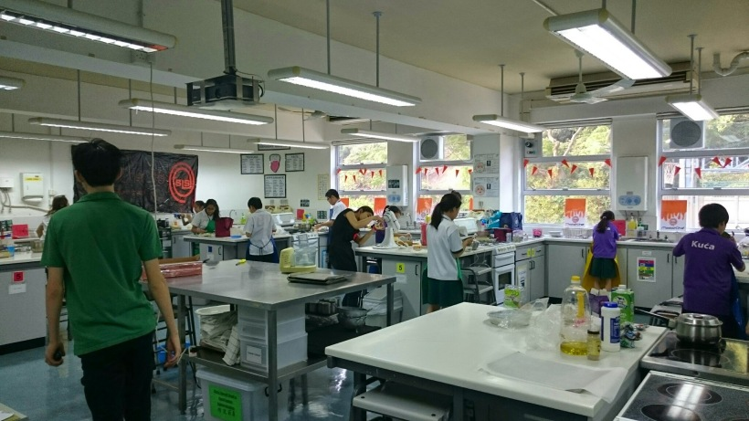Food technology rooms